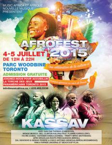 afrique nouvelle musique africa new music toronto canada art arts african congo congolese arthur tongo thomas tumbu festival bana y'afrique afrofest