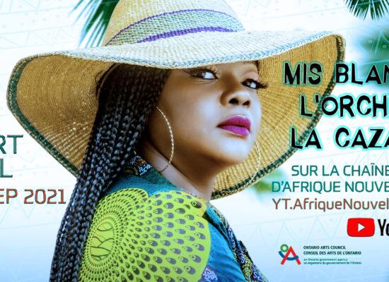afrique nouvelle musique africa new music toronto canada art arts african congo congolese arthur tongo thomas tumbu festival bana y'afrique canada oye multicultural day concert virtual blandine caza jazz